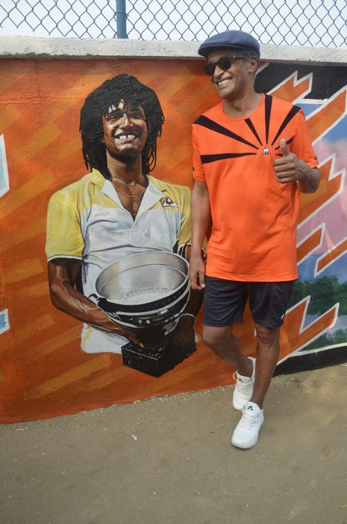 Yannick Noah vainqueur de Roland Garros 1983